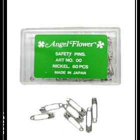 ANGEL FLOWER PINS-SILVER